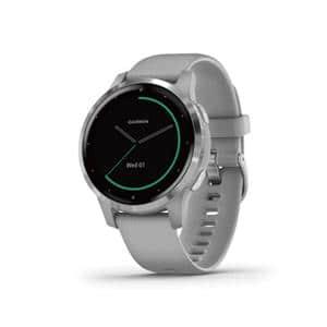 VIVO Active 4S パウダーグレー/シルバー GPSスマートウォッチ