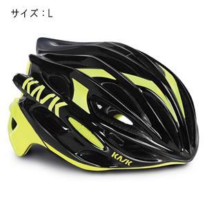MOJITO モヒート ブラック/イエローフルオ サイズL ヘルメット