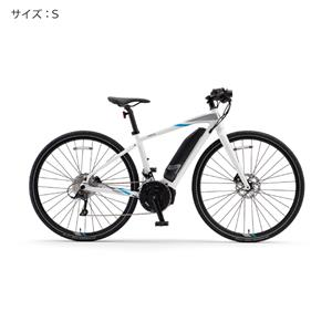 2018 YPJ-EC サイズS(154cm-) ピュアホワイト 電動アシスト自転車