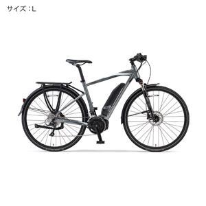 2018 YPJ-TC サイズL(170cm-) サテンシルバー 電動アシスト自転車