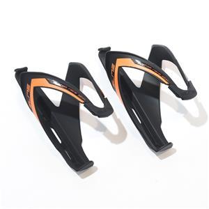 Custom race skin カスタム レース スキン ブラック / オレンジ 2個セット ボトルゲージ