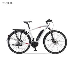 2018 YPJ-TC サイズL(170cm-) ピュアパールホワイト 電動アシスト自転車