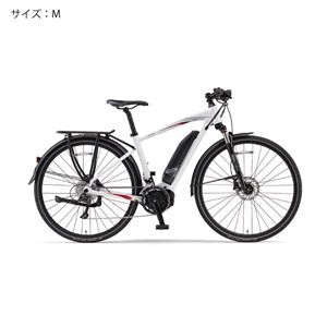 2018 YPJ-TC サイズM(165cm-) ピュアパールホワイト 電動アシスト自転車