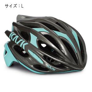 MOJITO モヒート ANTHRACITE (チャコールグレー)/アクア サイズL ヘルメット