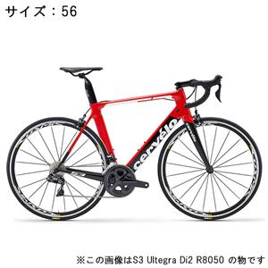 S3 ULTEGRA R8000 11S レッド/ブラック サイズ56 ロードバイク
