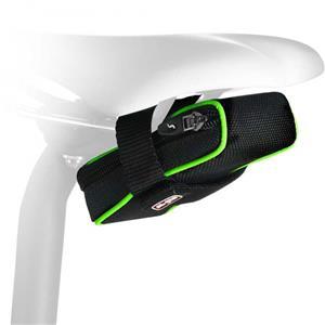 エラン210 フルオ 210cc グリーン サドルバッグ