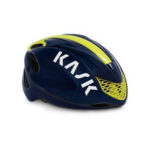 2019モデル INFINITY ブルー/イエロー FLUO サイズL ヘルメット