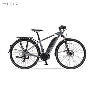 2018 YPJ-TC サイズS(154cm-) サテンシルバー 電動アシスト自転車
