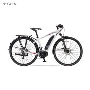 2018 YPJ-TC サイズS(154cm-) ピュアパールホワイト 電動アシスト自転車