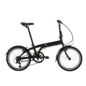2020モデル LINK A7 リンク マットブラック/ブラック (142-190cm) 折畳自転車