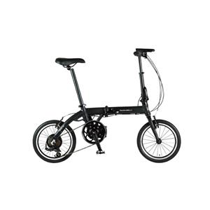 ULTRA LIGHT ウルトラライト E-BIKE AL-FDB166E ブラック 16インチ 折畳 電動自転車