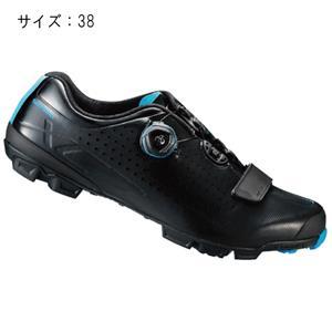 XC700LE ブラック サイズ38 (23.8cm) シューズ