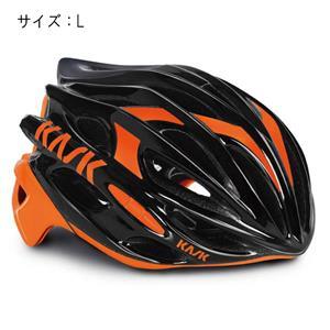 MOJITO モヒート ブラック/オレンジフルオ サイズL ヘルメット