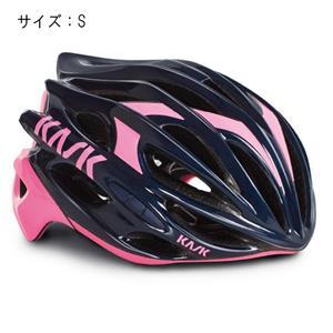 MOJITO モヒート ネイビーブルー/ピンク サイズS ヘルメット