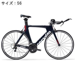 P2 105 5800 11S ネイビー/レッド サイズ56 ロードバイク