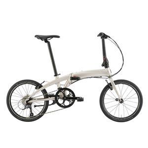 2020モデル VERGE N8 ヴァージュ ペールゴールド/シルバー (142-190cm) 折畳自転車