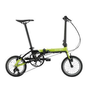2020モデル K3 ライムグリーン/ブラック (142-180cm) 折畳自転車