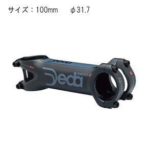ZERO 2 マットブラック ダークグレーロゴ φ31.7 110mm ステム