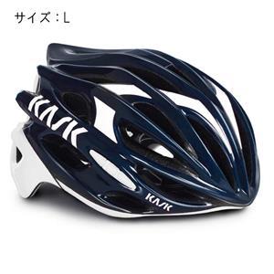 MOJITO モヒート ネイビーブルー/ホワイト サイズL ヘルメット