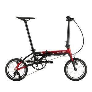 2020モデル K3 レッド/マットブラック (142-180cm) 折畳自転車