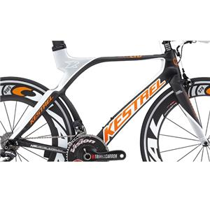 4000 LIMITED EDITION Di2 フレームセット2013モデル Carbon/Orange オレンジ サイズ57.5 【ロードバイク】【トライアスロン】【自転車】