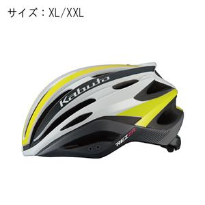 REZZA レッツァ G-2マットイエロー サイズXL/XXL ヘルメット