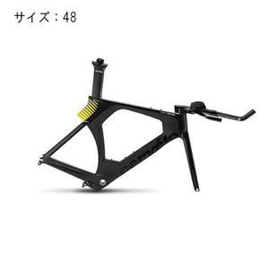 2017モデル P5-Three ブラック/イエロー サイズ48 フレームセット
