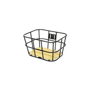 AL-N04 ウッド ボトム バスケット サイズS ブラック
