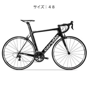 S2 105-5800 ブラック/シルバー サイズ48(166.5-171.5cm) 完成車