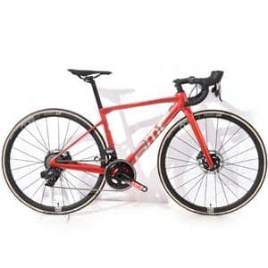 2022モデル Teammachine チームマシン SLR TWO SRAM FORCE eTap AXS Prisma Red & Brushed Alloy サイズ47(-166cm) ロードバイク