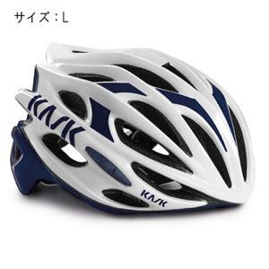 MOJITO モヒート ホワイト/ネイビーブルー サイズL ヘルメット