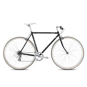 2020モデル BALLAD ブラック サイズ49(163-168cm) クロスバイク