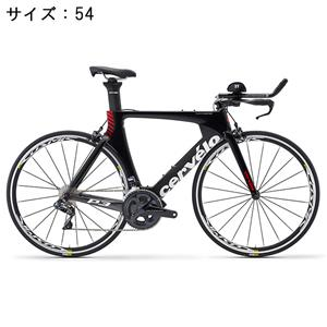 P3 ULTEGRA R8060 Di2 11S ブラック/レッド サイズ54 ロードバイク