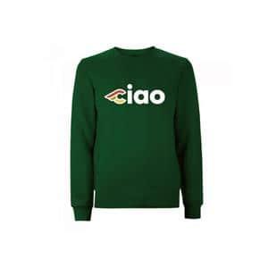 CIAO CINELLI CREWNECK サイズL グリーン スウェット