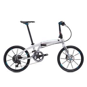 2020モデル VERGE X11 ヴァージュ クローム/ブラック (142-190cm) 折畳自転車