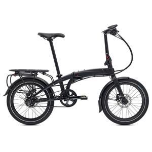 2020モデル VERGE S8i ヴァージュ マットブラック/ブラック (142-190cm) 折りたたみ自転車