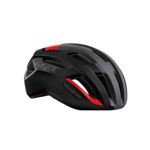 VINCI ヴィンチ Mips ブラック/レッド サイズM(56-58cm) ヘルメット