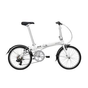 2020モデル Route ルート クラウドホワイト (142-193cm) 折畳自転車