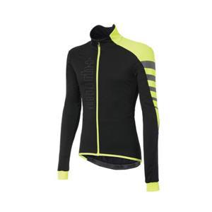 CODE WIND JACKET ブラック/イエロー/リフレックス サイズXL サイクリングジャケット