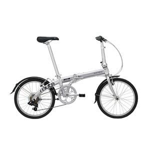 2020モデル Route ルート ピュアシルバー (142-193cm) 折畳自転車