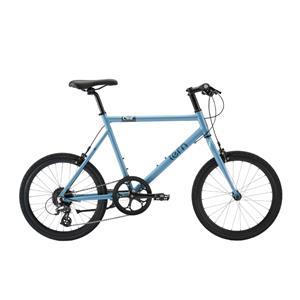 2020モデル CREST クレスト ブルー/グレー サイズ460 (155-165cm) ミニベロ