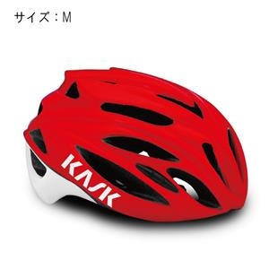 RAPIDO ラピード レッド サイズM ヘルメット