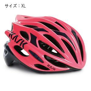 MOJITO モヒート ピンク/ネイビーブルー サイズXL ヘルメット