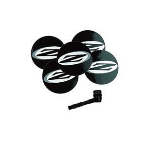 ディスクホイール用 バルブアダプター パッチセット 5枚入 ブラック