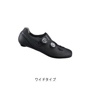 RC9 ブラック ワイドタイプ サイズ48(30.5cm) ビンディングシューズ