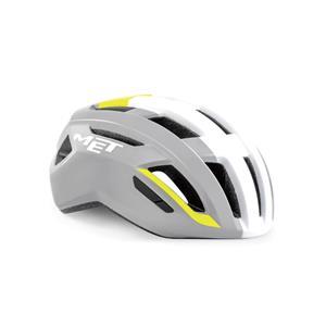VINCI ヴィンチ Mips グレー/イエロー サイズM(56-58cm) ヘルメット