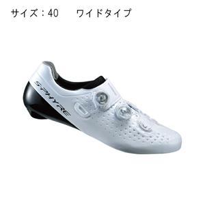 RC9 ホワイト ワイド サイズ40 (25.2cm) シューズ