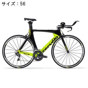 P3 ULTEGRA R8000 11S ブラック/フルオロイエロー サイズ56 ロードバイク