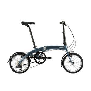 2020モデル Curve D7 カーブ スティールグレー (153-188cm) 折畳自転車