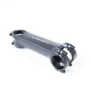 SUPERZERO スーパーゼロ ブラックオンブラック 130mm 82°φ31.7 ステム